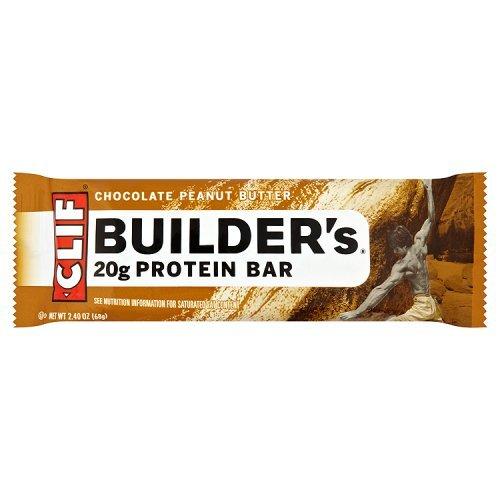 Clif Bar Chocolate Peanut Butter Builder Bar, 12 Count