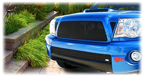 Toyota Tacoma 2005 - 2011 MX-Series Lower Bumper Grille Insert in Black Grillcraft Mx Series Bumper