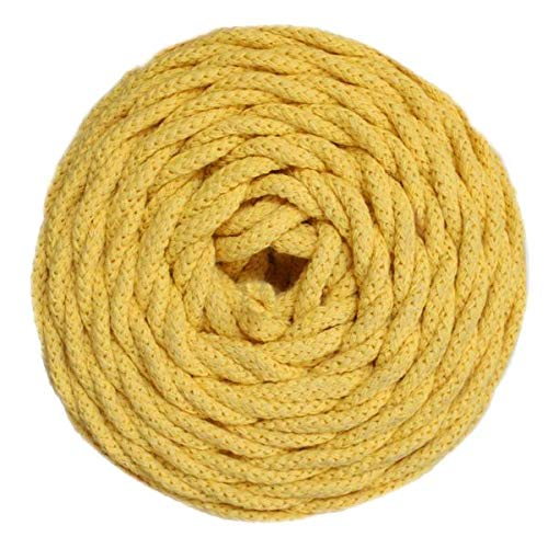 Braided Sunflowers Cotton - GANXXET Cotton AIR - Sunflower Yellow Color