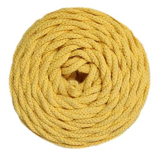 Cotton Braided Sunflowers - GANXXET Cotton AIR - Sunflower Yellow Color
