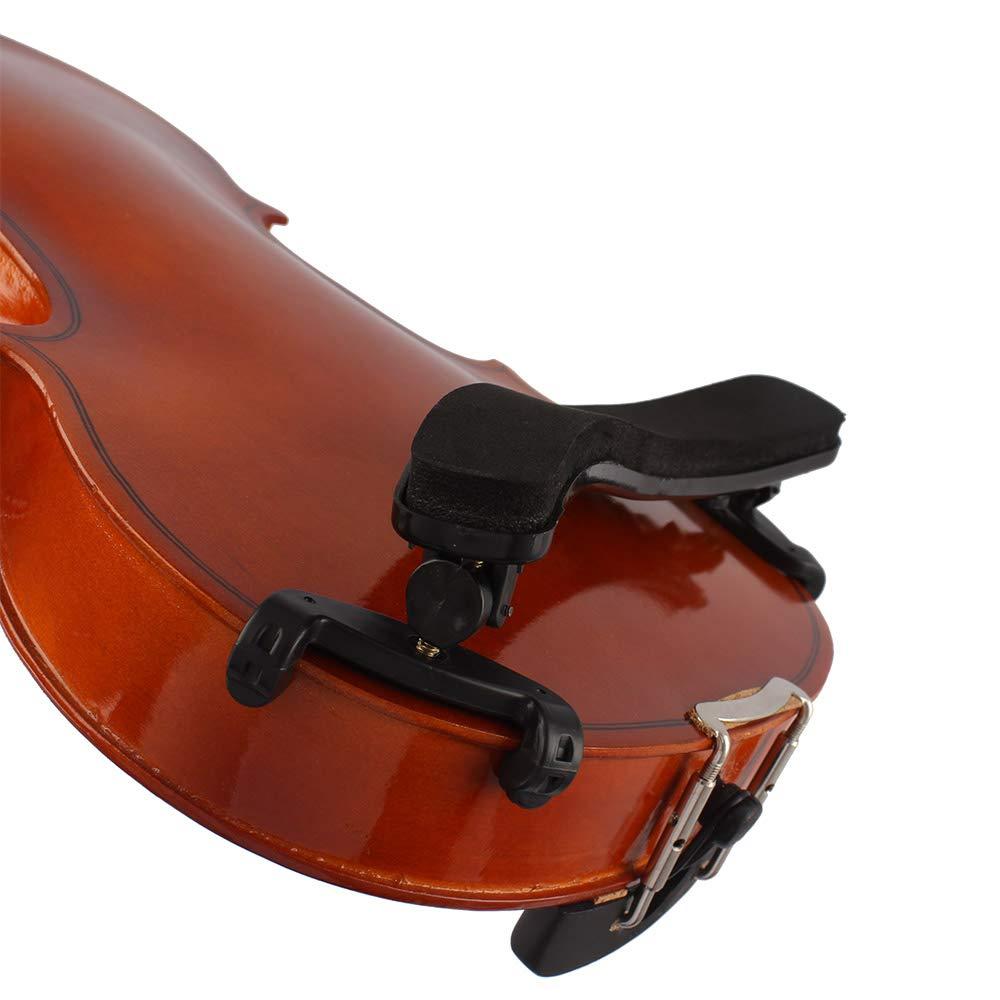 EDTara Universal Violin Shoulder Rest Plastic EVA Padded for 3/4 4/4 Fiddle Violin Parts Accessories General