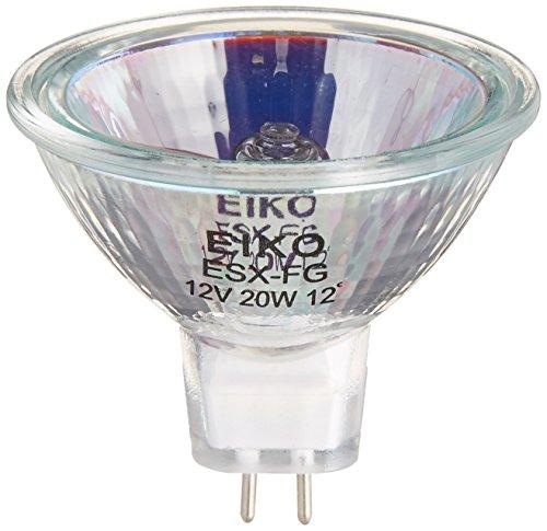 Eiko ESX Spot MR16 GU5.3 Base Halogen Bulb, 12V/20W