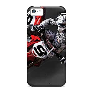 Faddish Phone Dirt Moto Case For Iphone 5c / Perfect Case Cover