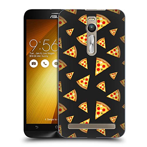 Official PLdesign Pizza Slices Pattern Food Hard Back Case for Zenfone 2 / ()