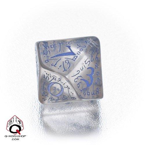 通販 1 (One) Single d10 - Blue) Q-Workshop: (Transparent Carved Elvish/ Elvish Elven d10 Dice/ Die (Transparent Blue) B005WVX6L2, ハチロウガタマチ:aabd99d6 --- cliente.opweb0005.servidorwebfacil.com
