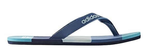 adidas Eezay Striped, Chanclas para Hombre, Azul (AZUBAS/AZUMIS/VERTAC), 46 EU