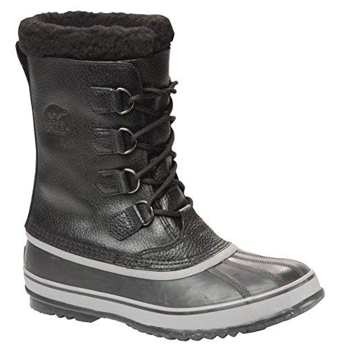 1964 Pac Boot (Mens Sorel 1964 Pac Walking Winter Rain Snow Waterproof Hiking Boots - Black - 12)