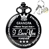 to My-Grandpa Pocket-Watch for Grandpa Best Gifts