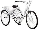 Schwinn Meridian Wheel Trike Bicycle, White, 14