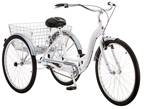 Schwinn Meridian Wheel Trike Bicycle, White, 14