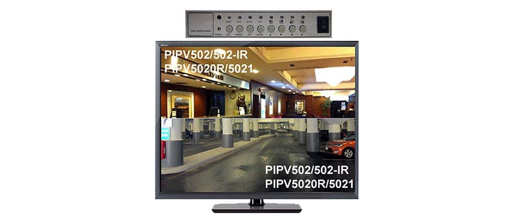 Dual-Channel Picture-In-Picture Video Mixer With BNC Video Inputs/Output