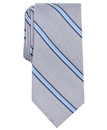 Nautica (NAV5C) Men's Bilge Stripe Tie, navy, One - Mens Nautica Tie