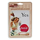 Yes Girl in White Bathing Suit Coca-Cola Single Switchplate Cover