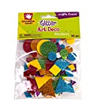 Creative Hands Glitter Foam Stickers, Art Deco - Packaging May Vary