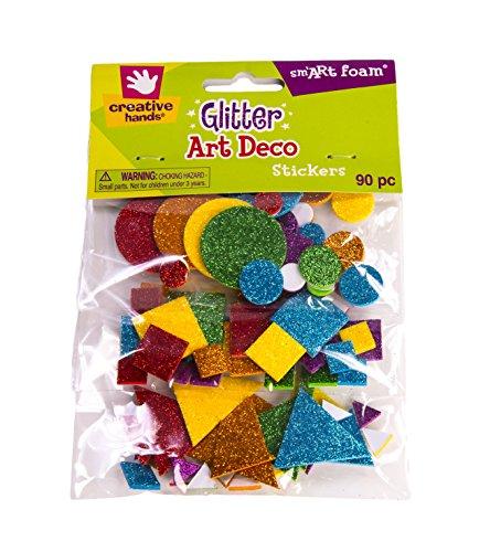 Price comparison product image Creative Hands Glitter Foam Stickers