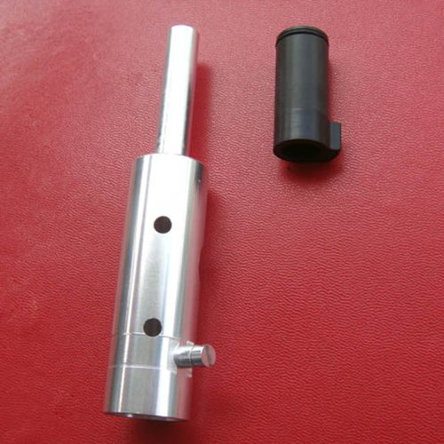 New Paintball Aluminum Power Tube and Derlin Front Bolt for Tippmann Custom 98 - Silver Color by GFSP Outdoor Sports