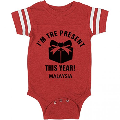 Malaysia Is The Present This Christmas: Infant Rabbit Skins Football Bodysuit
