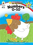 Numbers 0-10, Grades PK - K: Gold Star Edition (Home Workbooks)