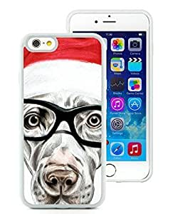 2014 Newest Case Cover For SamSung Galaxy S4 Mini Glasses Christmas Dog Hard Case 4White Hard Case 3