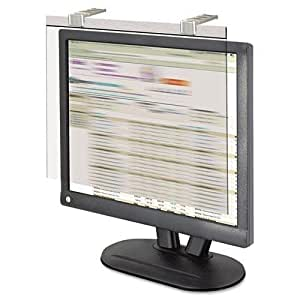 "KANTEK LCD19SV LCD Protect Privacy Antiglare Deluxe Filter, 19""-20"" LCD, Silver by Kantek"
