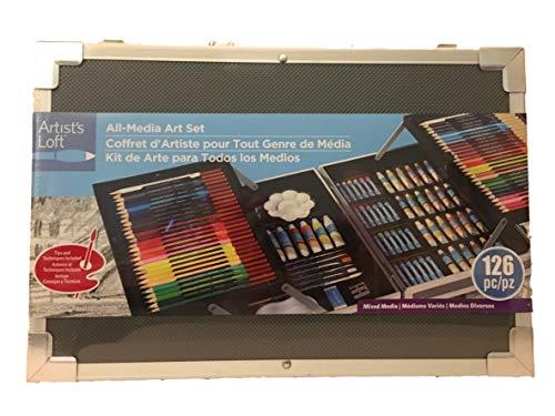 All-Media Art Paint Set by Artist s Loft (126391) Deluxe Acrylic Art Kit