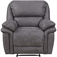 Mstar Jackson Lay Flat Wall Away Recliner with Memory Foam Seat Topper