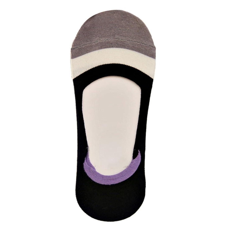 Hunzed Women's Boat Socks Girl's Silicone Non-slip Anti-off Invisible Socks