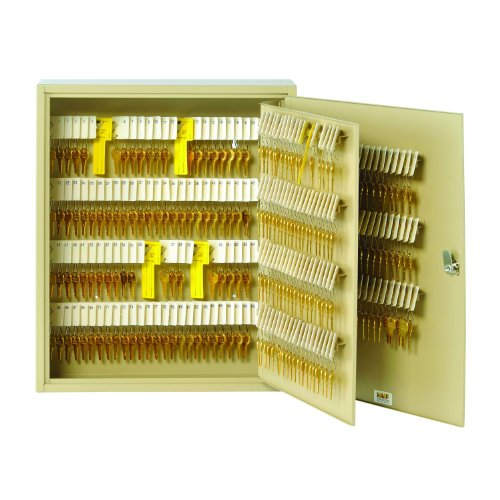 (STEELMASTER Unitag Locking 320-Key Cabinet, 16.5 x 20.13 x 4.88 Inches, Sand (201932003))