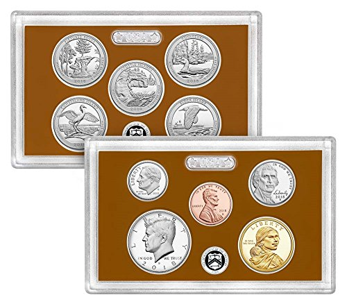 2018 S 10 Coin Clad Proof Set in OGP with CoA Proof (2018 Coin Proof Set)