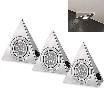 Armoire Led Triangle Lumiere Sous Armoire Placard Lampe D Eclairage De Nuit Durable Pour Maison Meuble De Cuisine Armoire Decoration White 220 V 1pc