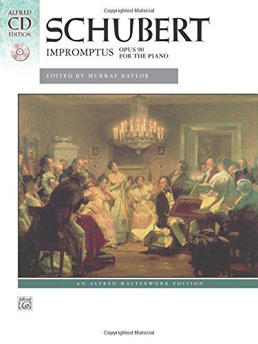 Download Schubert -- Impromptus, Op. 90: Book & CD (Alfred Masterwork CD Edition) PDF