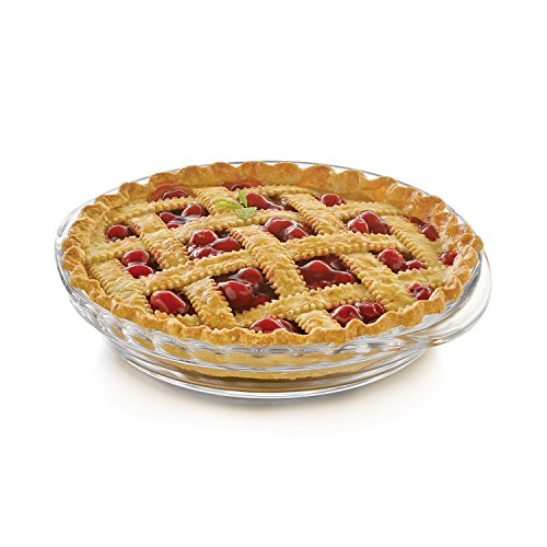 Libbey Baker's Basics 2-piece Glass Deep Pie Plate Value Pack by Libbey