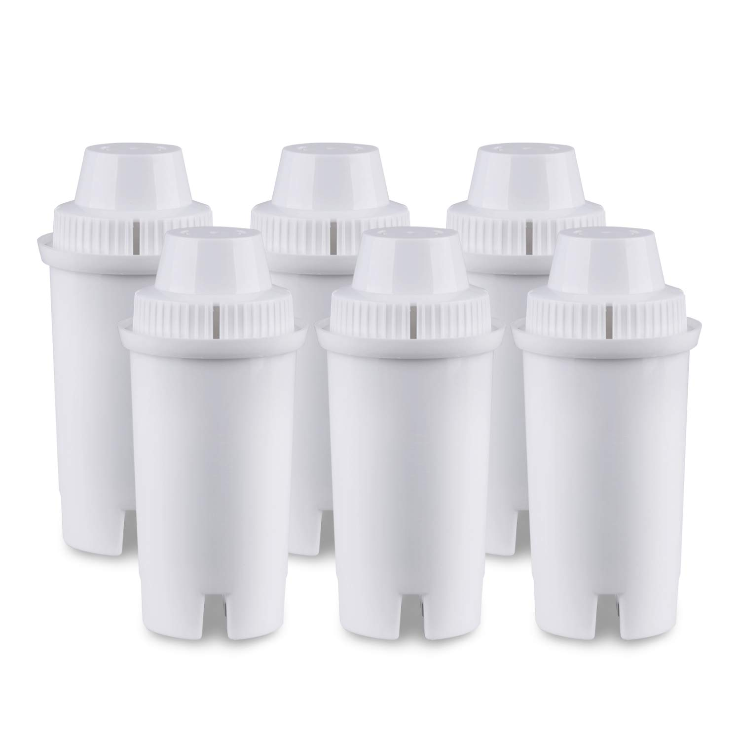 GOLDEN ICEPURE Replacement Pitcher Water Filter,Compatible with Brita Classic Filter,Advanced Filter,Mavea 107007,6 Pack