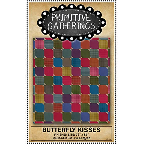(Butterfly Kisses Quilt Pattern by Primitive Gatherings )