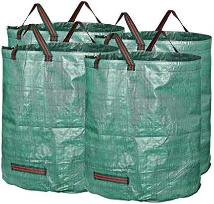 庭のゴミ袋、庭のゴミの草植物の花の貯蔵のきちんとしたバケツ(240L H80 cm、D47 cm) (サイズ さいず : 4 bags)