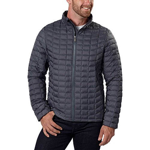 - Ben Sherman Mens Quilted Jacket (XX-Large, Gray)