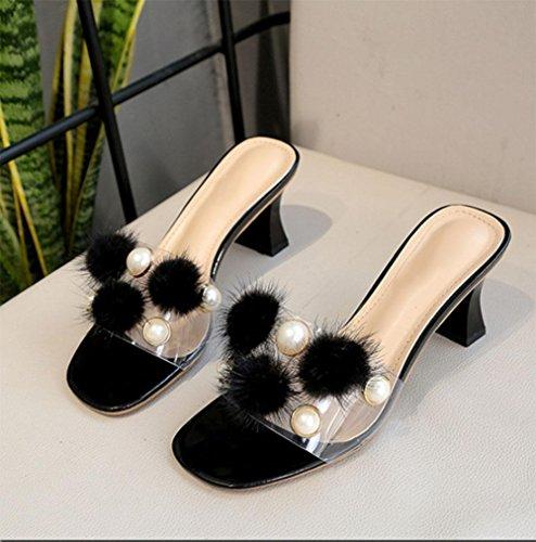 weiblich Hausschuhe EU35 UK3 gezogen Wild CN35 Schuhe US5 tragen 5 Wort Außerhalb 5 SArqxAd