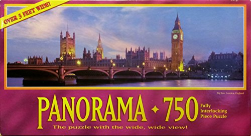 Thames River, London Panorama - 750 Piece Jigsaw - Over 3 Feet (Peppermint Patty Costumes)