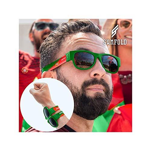 Sunfold Mundial Portugal Gafas de Sol Enrollables, Unisex ...