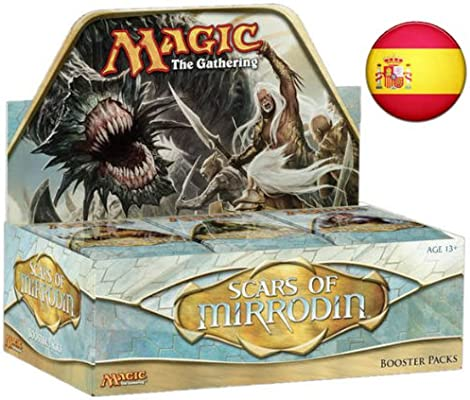 Magic The Gathering Caja de Sobres Scars of Mirrodin (ESPAÑOL ...