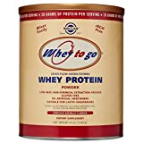 Solgar - Whey To Go Protein Powder Natural - Best Reviews Guide