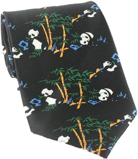 Xzwdiao Corbatas Estampado De Panda De Estilo Chino De 10 Cm para ...