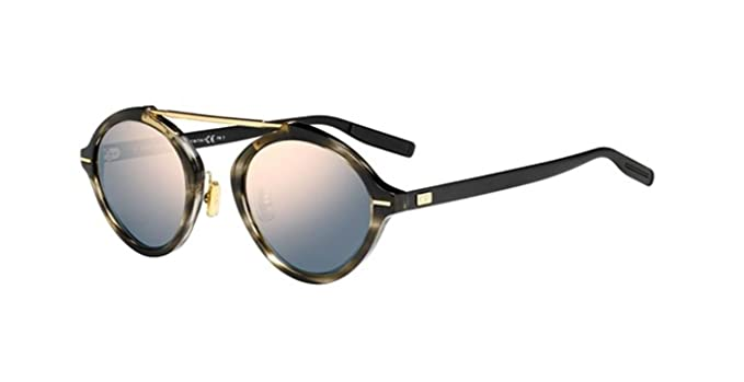 74e7aaa5c02 Image Unavailable. Image not available for. Colour  Authentic Christian  Dior Homme System 2OS JO Striped Black Havana Sunglasses