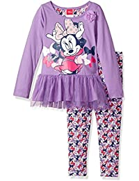 Disney Girls' 2 Piece Minnie Mouse Legging Set