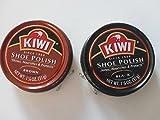 #6: Kiwi Brown and Black Shoe Polish, 1-1/8 Oz (2 Cans)