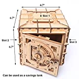 YOFIT Mechanical Models,3D Wooden Puzzle,Model Safe Kit,Money Banks