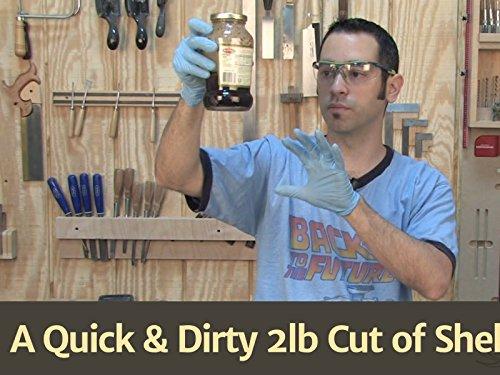 A Quick & Dirty 2lb Cut of Shellac