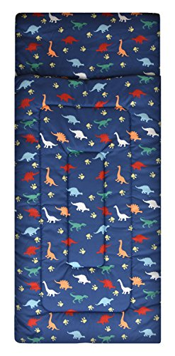 American Kids Dino Sleeping Bag, Navy ()