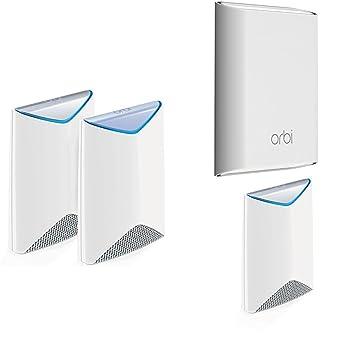 Amazon com: NETGEAR Orbi Pro Business Indoor Outdoor Mesh