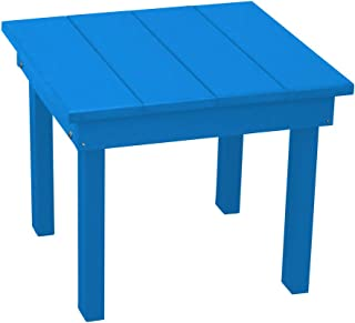 product image for Outdoor Hampton End Table - Black Poly Lumber - Recycled Plastic